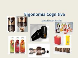 Ergonomía Cognitiva Aplicaciones en el diseño