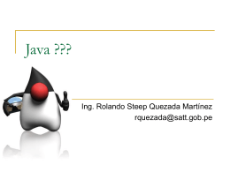 Rolando Steep Quezada – Java