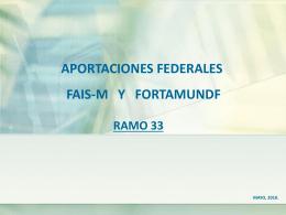 Ramo 33 - Contraloría del Poder Legislativo del