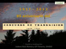 Primer concurso español de radioaficionados -