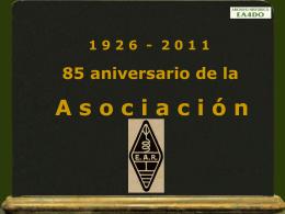El naciminero de la Asociación E.A.R. en 1926