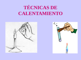 TÉCNICAS DE CALENTAMIENTO