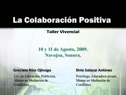 La Colaboración Positiva