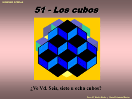 Los cubos