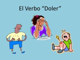 """El Verbo """"Doler"""""""