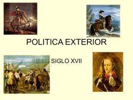 POLITICA EXTERIOR - HISTORIA 2º BACH FAIRE L`