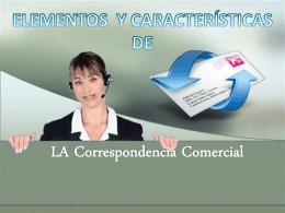 ELEMENTOS DE LA CARTA COMERCIAL