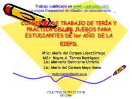 CUADERNO DE TRABAJO DE TERÍA Y PRÁCTICA DE LOS