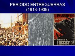 PERIODO ENTREGUERRAS (1918