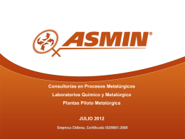 Diapositiva 1 - Home | ASMIN Industrial