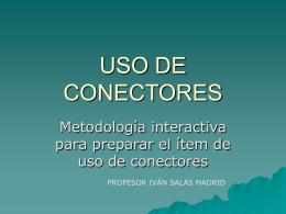 USO DE CONECTORES - Portal RMM