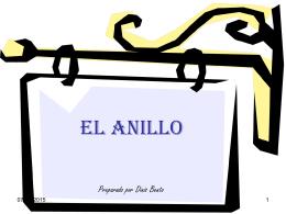 O ANEL - PresentacionesWeb