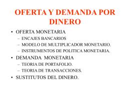 DINERO E INFLACION - UCEMA | Universidad del CEMA