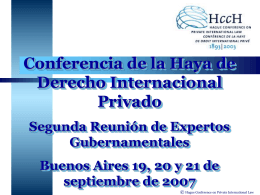 Member States of the Hague Conference on private