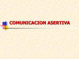 4.- Comunicacion asertiva PPT