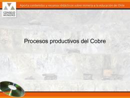 Procesos productivos de algunos minerales