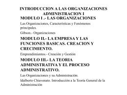 Las Organizaciones y Mintzberg