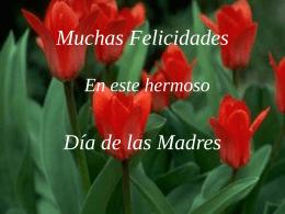Muchas Felicidades - PresentacionesWeb