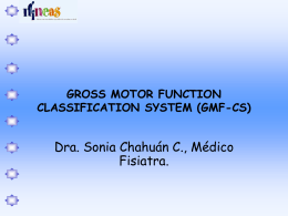 GROSS MOTOR FUNCTION CLASSIFICATION SYSTEM …