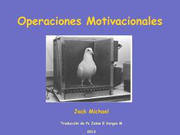 OPERACIONES MITIVACIONALES JACK MICHEL