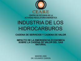 INDUSTRIAS DE LOS HIDROCARBUROS