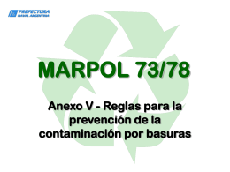 CURSO MARPOL ANEXO V