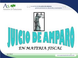 """EL JUICIO DE AMPARO"""" SU ORIGEN EN TRES ETAPAS:"""