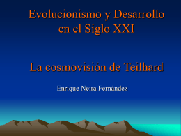 1. El intento Teilhard