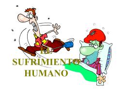 EL SUFRIMIENTO HUMANO