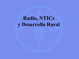 Radio, NTICs y desarrollo rural