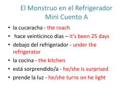 El Monstruo en el Refrigerador