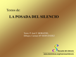 Textos 'LA POSADA DEL SILENCIO'