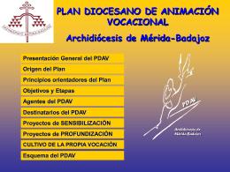 PDAV 6.0 - Pastoral Vocacional