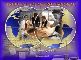 TRIBUNAL ADUANERO NACIONAL