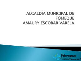 AMAURY ESCOBAR VARELA ALCALDE