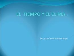 EL CLIMA DE LA CIUDAD UNIVERSITARIA, D.F.