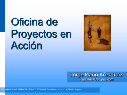 Project Scorecard