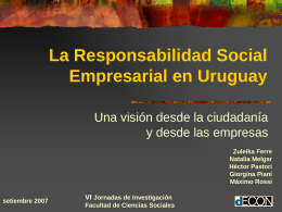 Responsabilidad Social - SelectedWorks | Create faculty