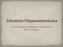 Literatura Hispanoamericana - California State University