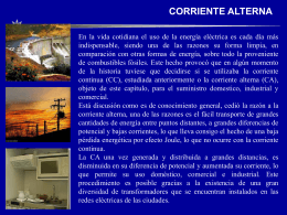 Corriente Alterna - Universidad Nacional Experimental del