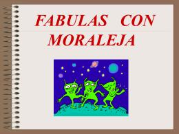 Fabulas con moralejas