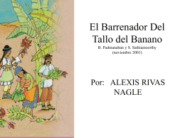 El Barrenador Del Tallo - OoCities