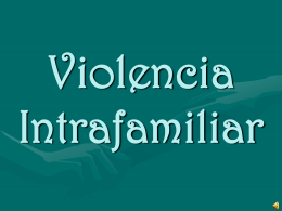 Violencia Intrafamiliar - AWS | Amazon Simple Storage