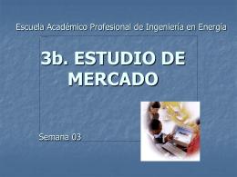 ESTUDIO DE MERCADO - Biblioteca Central de la …