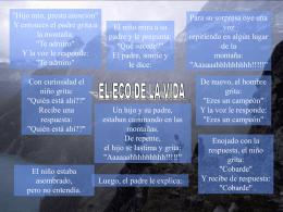 El eco de la vida - PresentacionesWeb