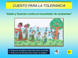 CUENTO PARA LA TOLERANCIA - INTEF