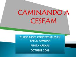 De Consultorio a Centro de Salud Familiar: el proceso chileno