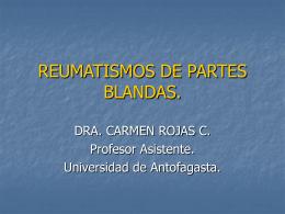 REUMATISMOS DE PARTES BLANDAS