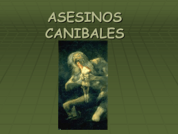 ASESINOS CANIBALES