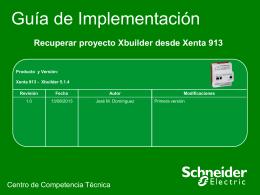 Recuperar backup programa Xenta 913.pps